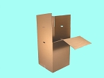 **NO LONGER COMES WITH BAR**  SHORT Wardrobe ● 24 x 24 x 36 (FOLDS IN 1/2)  (BAR NO LONGER INCLUDED, MUST BE ORDERED SEPERATLY!!)